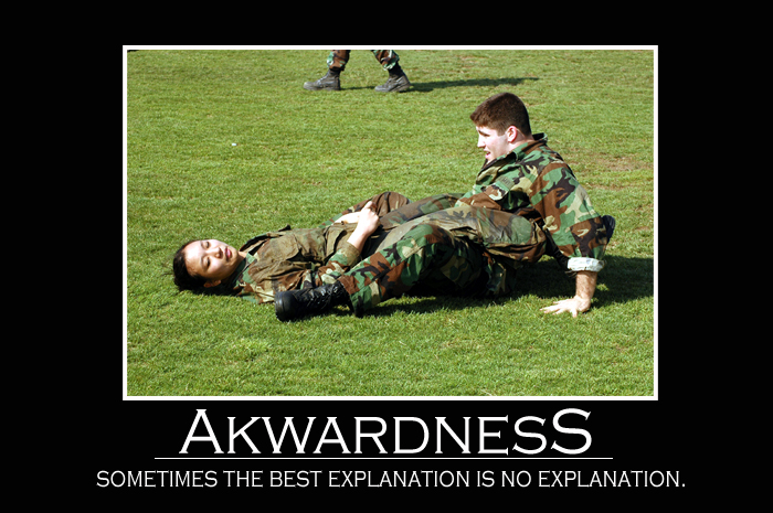 Demotivator - Akwardness by twistoffate