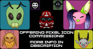 Offering Pixel Icon Commissions! (2019 Edition)