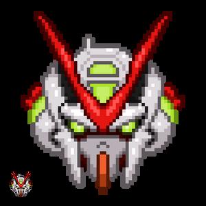 Gundam Pixel Head