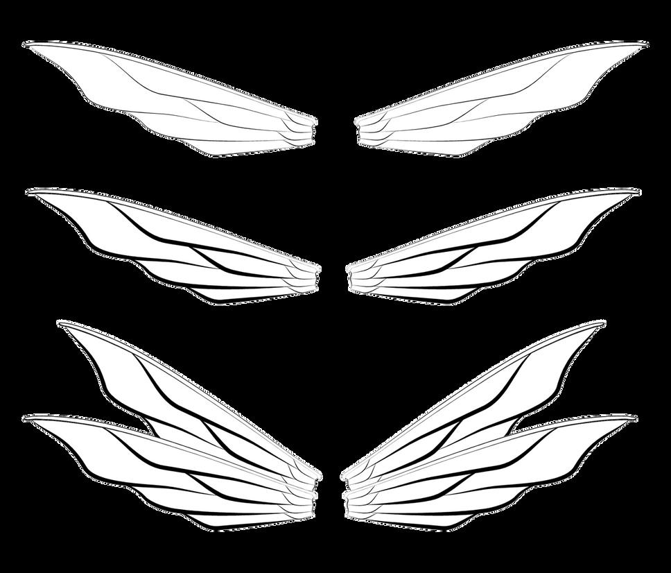 Line Art Wings : Bee fairy wings lineart by aciampal on deviantart