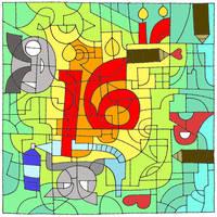 Happy 16 birthday DA :) by aciampal