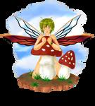 Mushroom Fairy Redraw