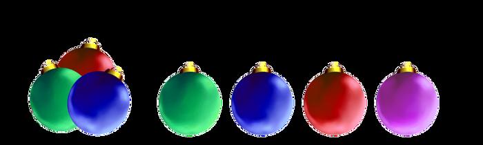 XMas decorations - Christmas balls by aciampal