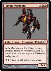 Terran Warhound by starcraftmtg