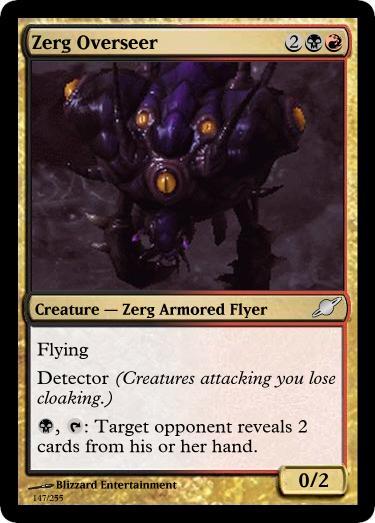 Zerg Overseer by starcraftmtg