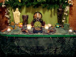Green Man Altar 2