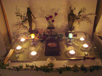 Pagan Altar 01 by Druidstone