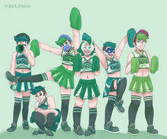 Jse Egos As Cheerleaders by Vantruce
