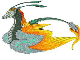 Midona Dragon by La-Malkavian