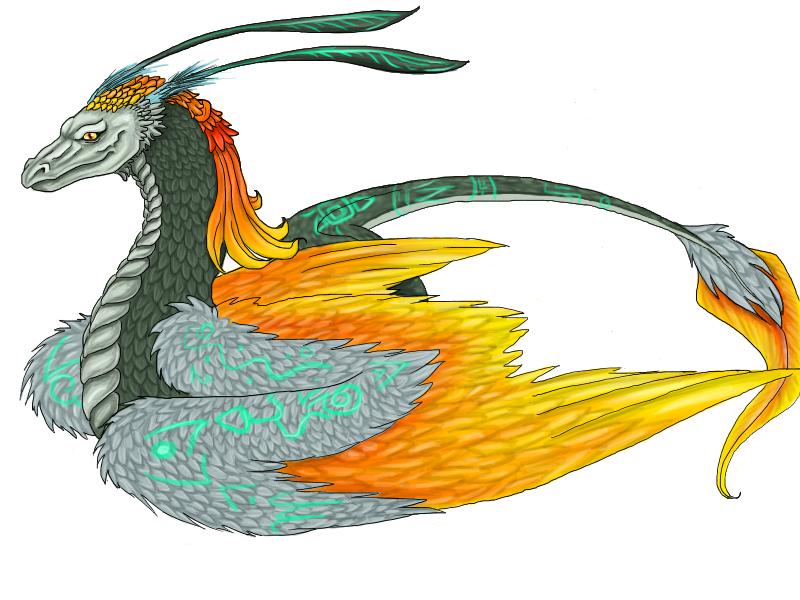 Malk's ArtWorks {Niahahah dessiiins ! *Zbaf*} Midona_Dragon_by_La_Malkavian