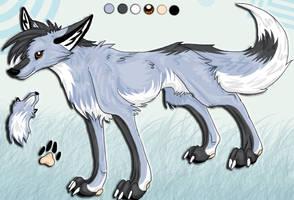 Beck Arctic Fox Sheet by La-Malkavian