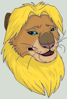 -Caracter- Link Lion Head by La-Malkavian