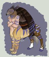 -Vrac- Centaure Etrange. by La-Malkavian