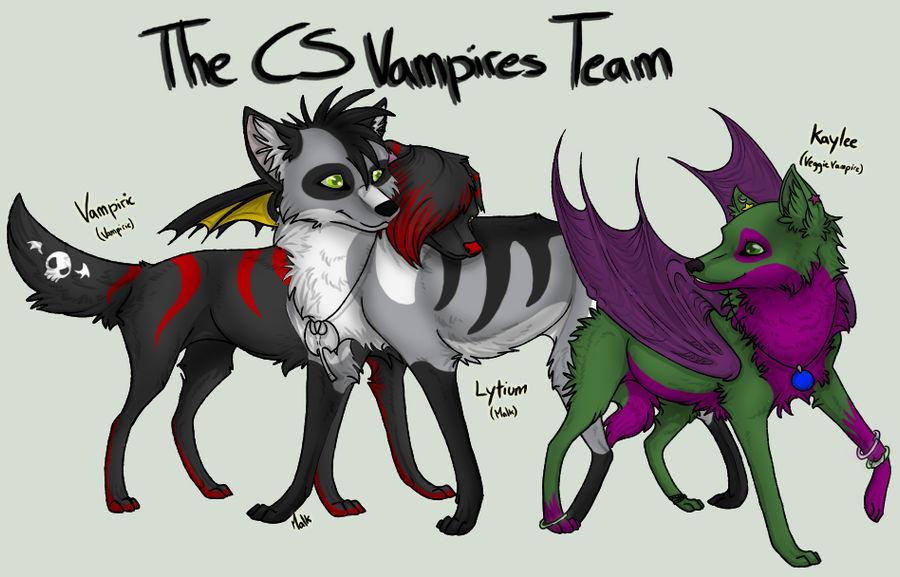 CS Vampires Team by La-Malkavian