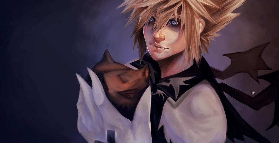Sora in Halloween Town by ilaBarattolo