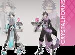 (CLOSED) SET PRICE ADOPTS - Crystalhorns Batch