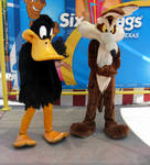 Daffy and Wile E. Coyote