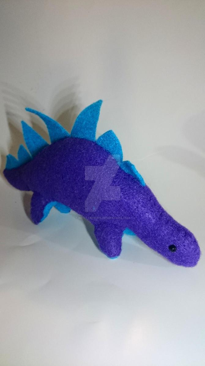 Purple Dino by Brittastic174