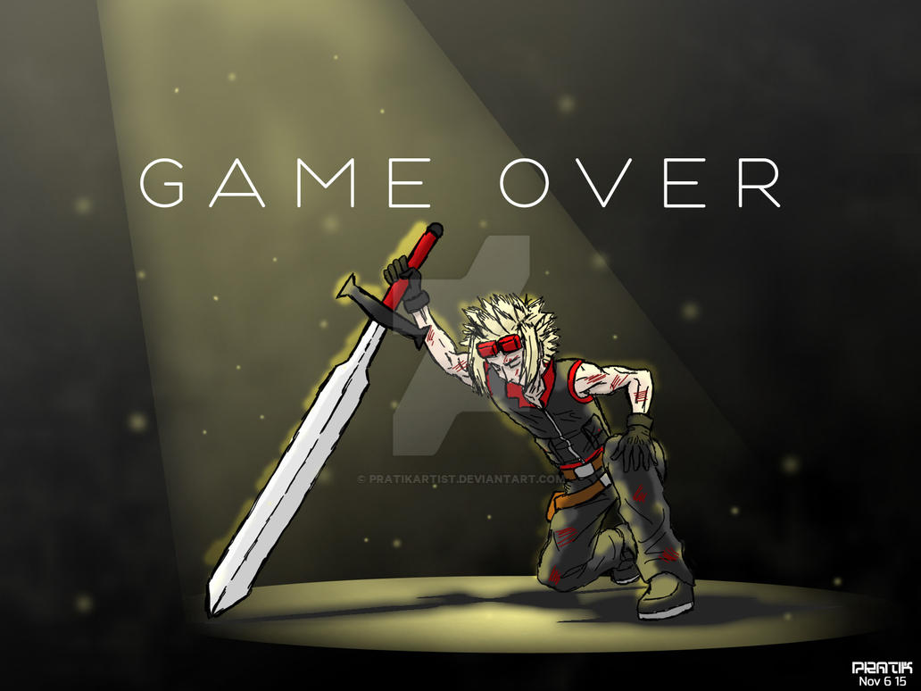 Gameover Screen from OMNIA by pratikartist