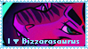 I Love Bizzarasaurus STAMP by Bizzarasaurus