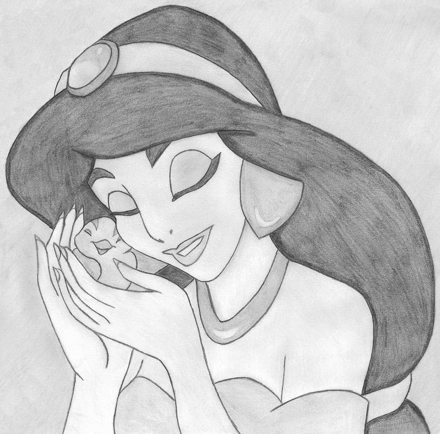Jasmine loves birds by lordsnoopy