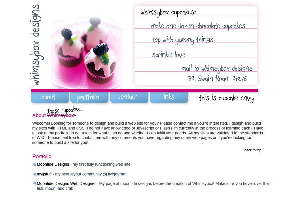 Cupcake Envy - Design Concept by lumoslindsay