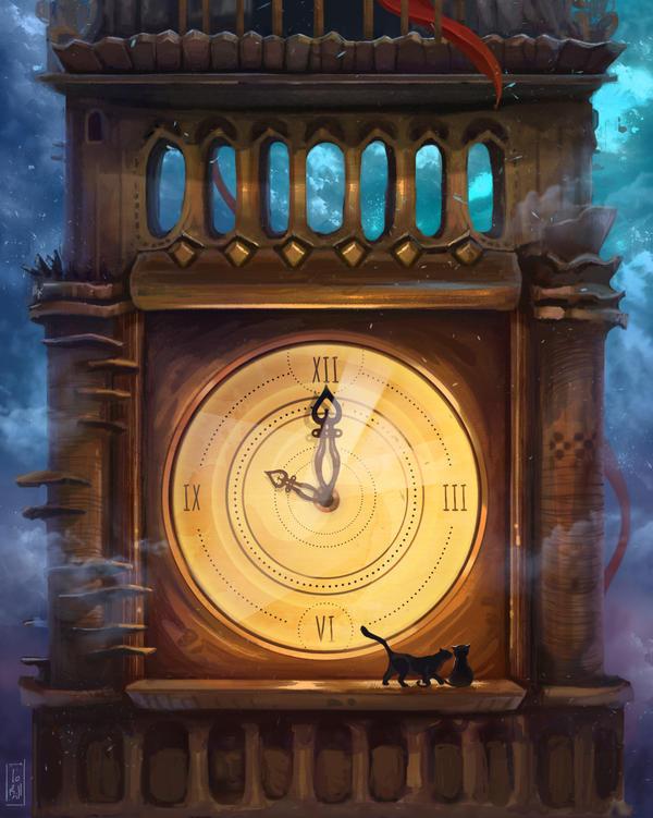 Big Ben Et Le Chat by LoBill