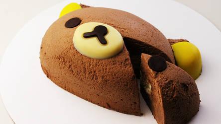 (Ko)Rilakkuma Chocolate Mousse Cake +Recipe+Video by SweetMissCreation