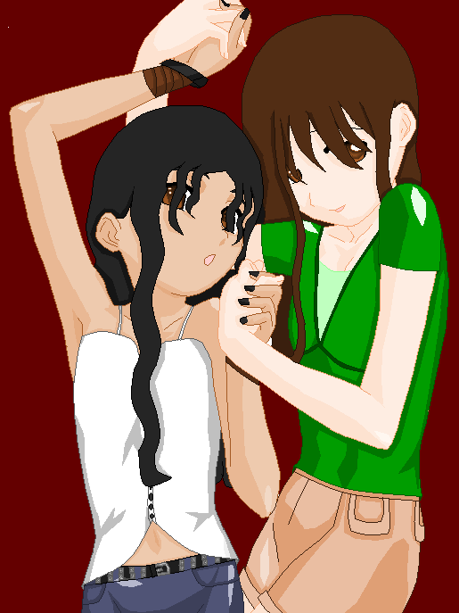 Ania Lupita and Bella Swan,Lil by AnimeDaydream