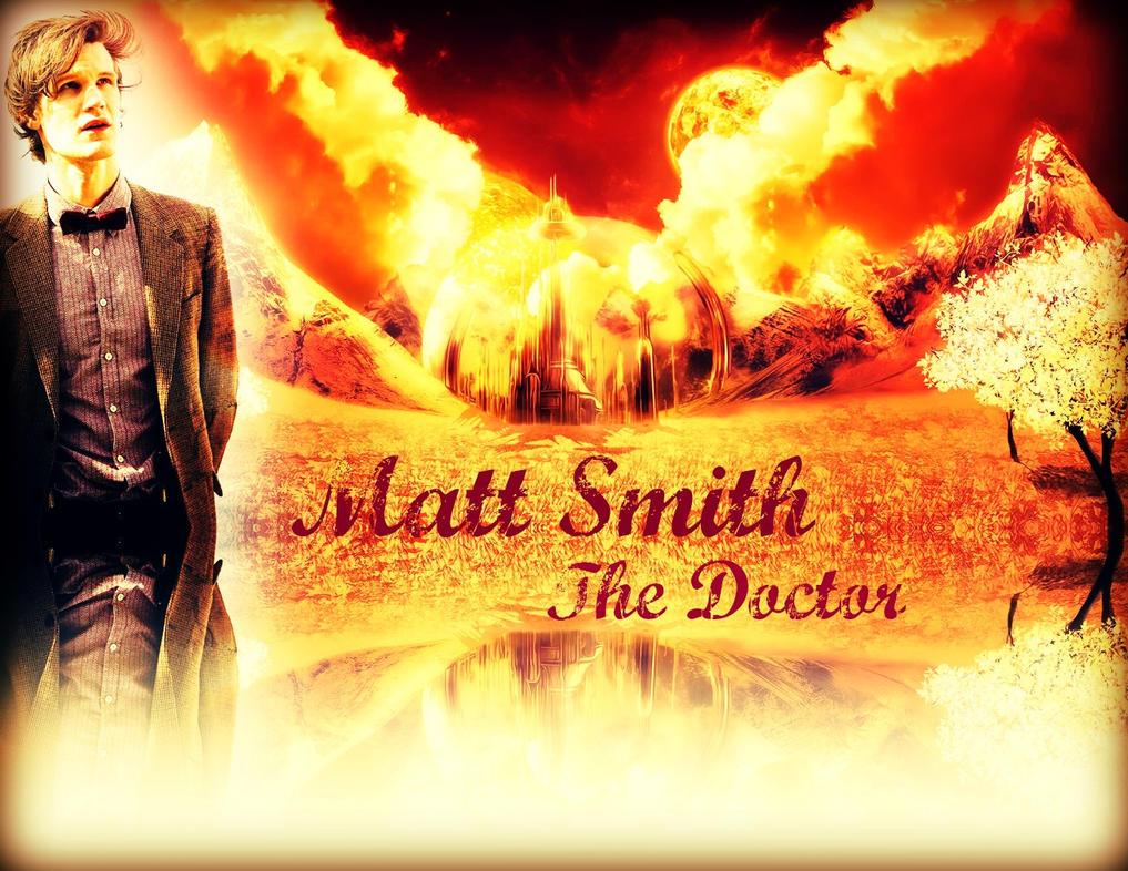 Matt Smith The 11th Doctor at Gallifrey... by LarrinJarriSheppiik
