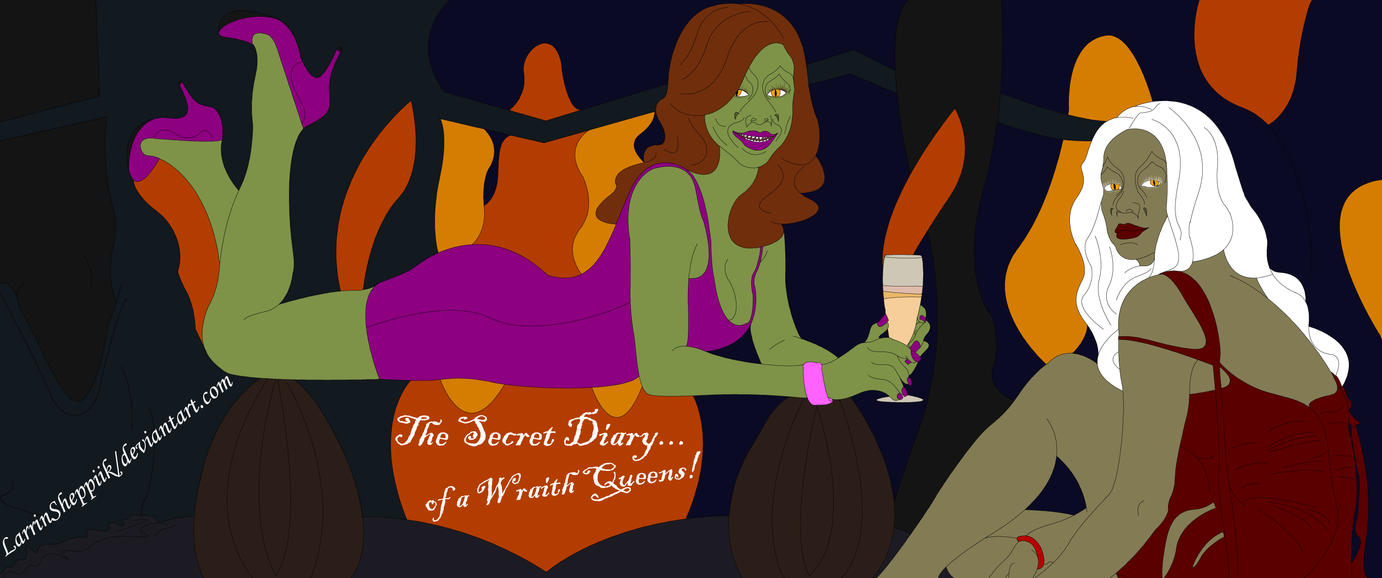 The Secret Diary of a Wraith Queens... by LarrinJarriSheppiik