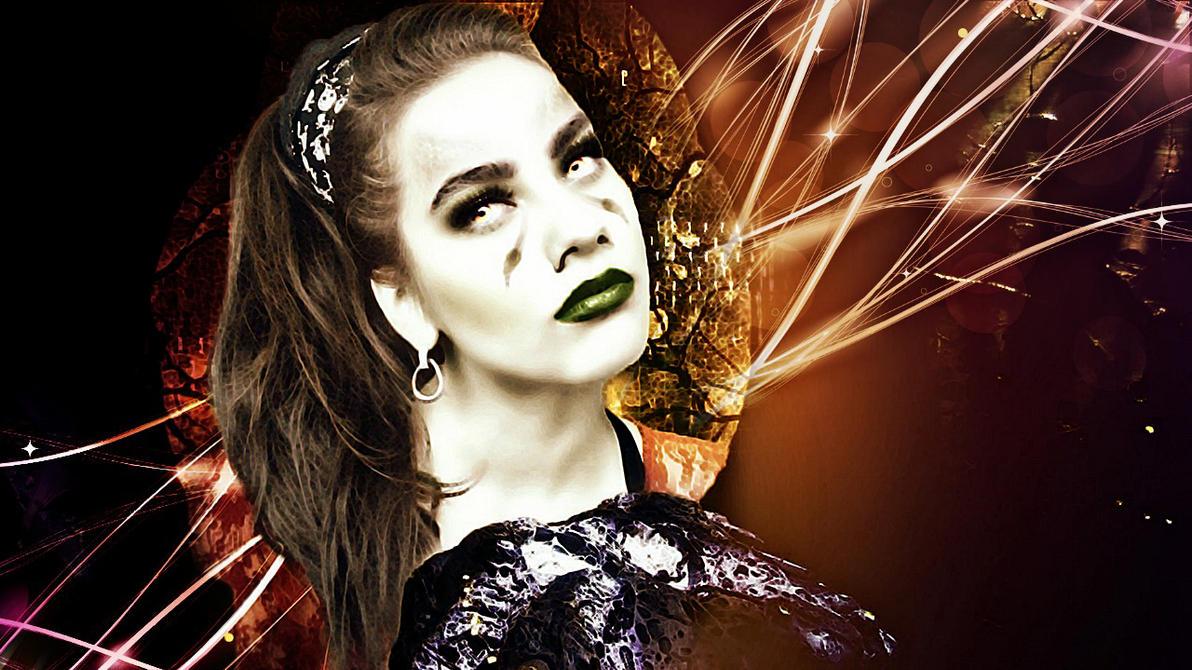 Me as Wraith Hybrid another edit... by LarrinJarriSheppiik
