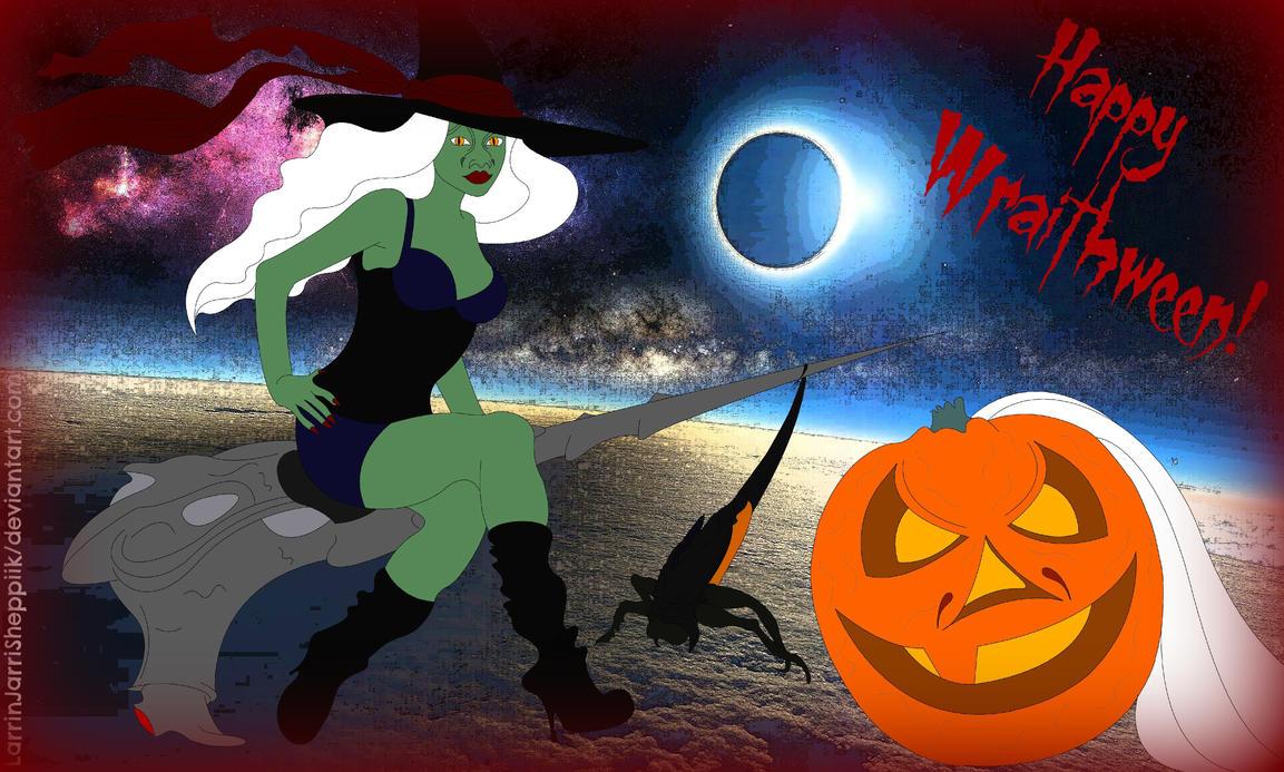 Happy Wraithween, Gagaween just Halloween! by LarrinJarriSheppiik