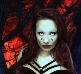 Me as Wraith Queen... by LarrinJarriSheppiik