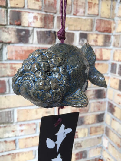 Japanese Wind Chime (Chinese Ranchu shape) by Dhirrr