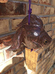 Japanese goldfish wind chime
