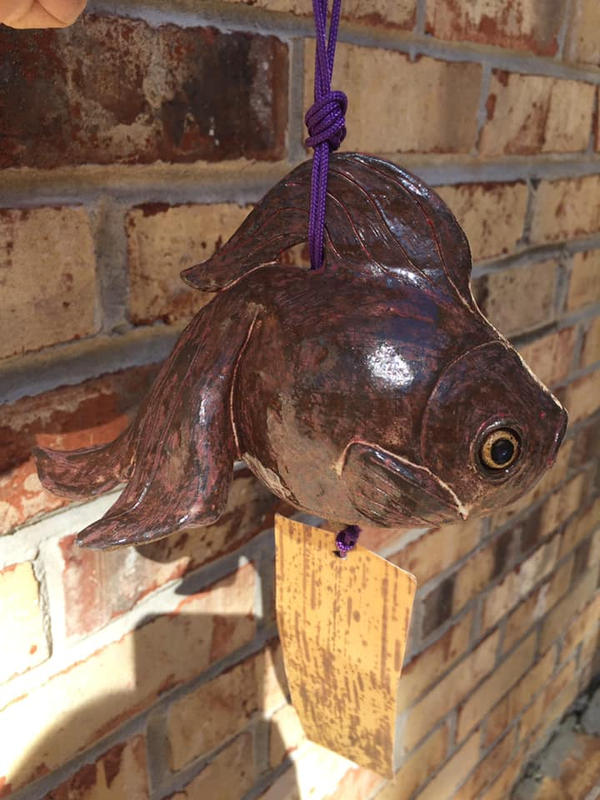 Japanese goldfish wind chime by Dhirrr
