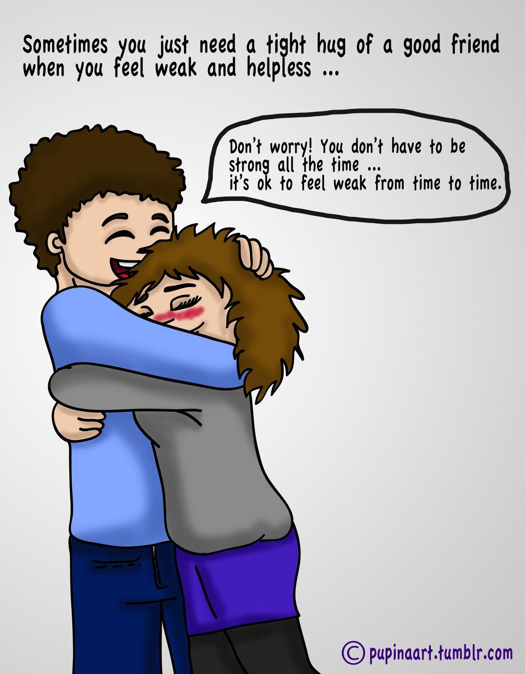 Just a tight hug by lilalaune4 on deviantart - Tight hug wallpaper ...