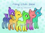 [P2U] Pony Chibi Base by VladiVoices
