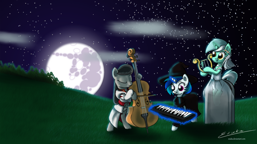 A very musical Halloween by Esuka