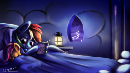 Riding Out The Storm by Esuka