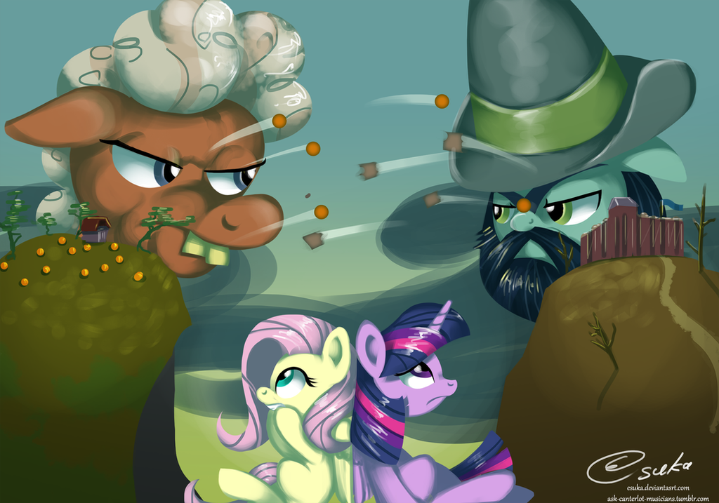 S5 E23: War of the Pumpkins by Esuka