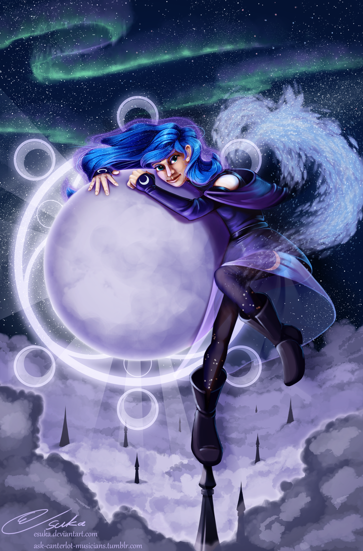 Daughter of the Moon by Esuka