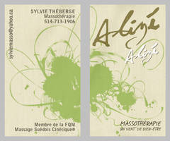 Alize Business Card by misfitmalice