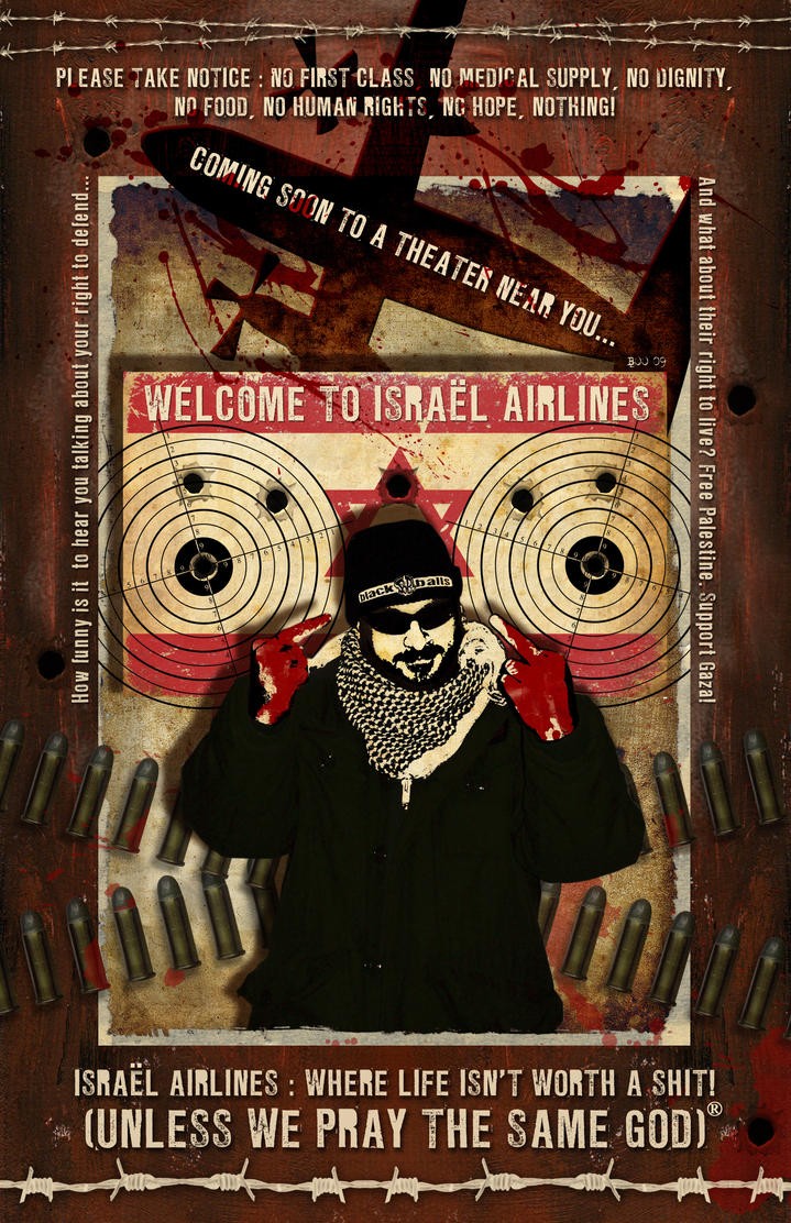 Welcome to Israel Airlines by misfitmalice