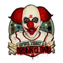 Tales From The Drunk Clown - Logo Final by misfitmalice