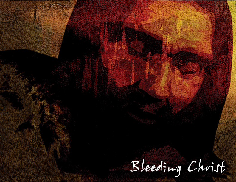 Bleeding Christ by misfitmalice