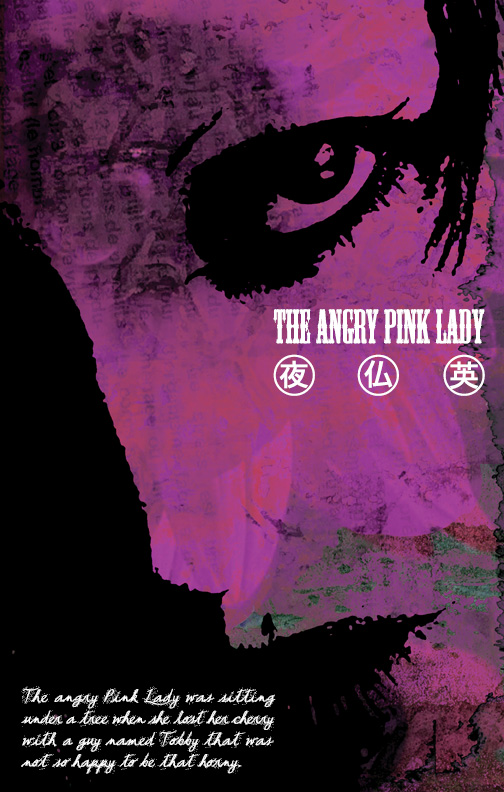 The Angry Pink Lady by misfitmalice