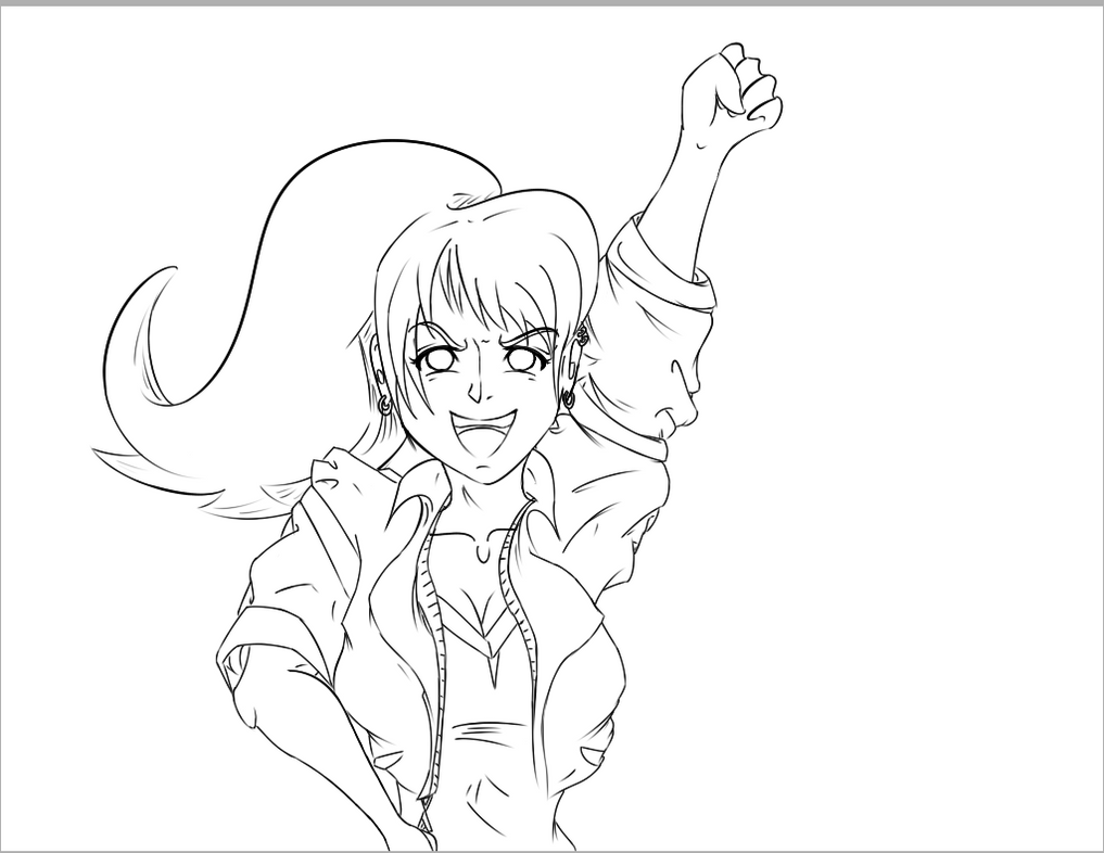 Animation Frame WIP by Honoro