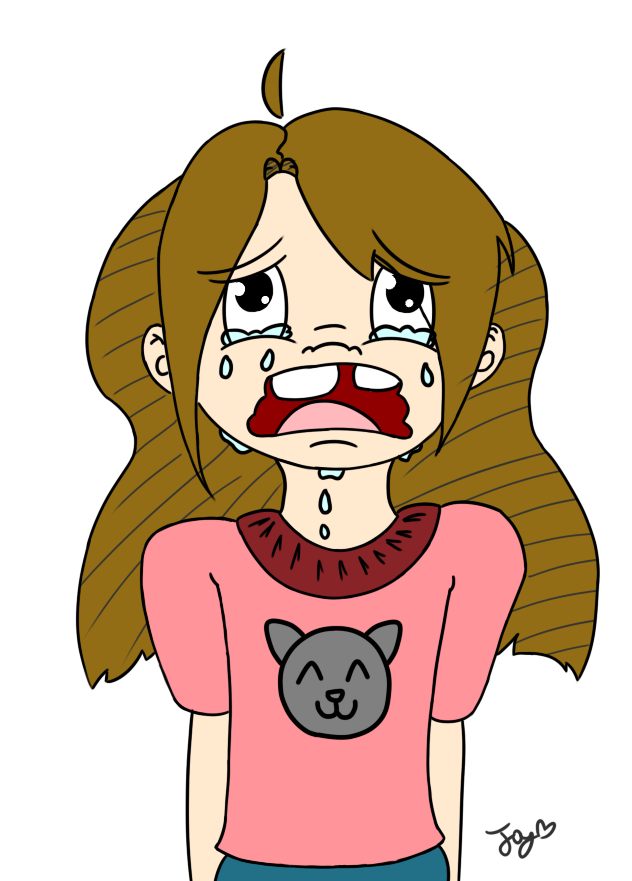 Little Crying (Color) by Honoro
